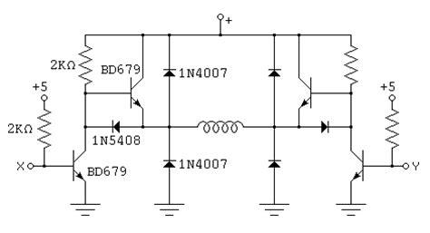 bipolar transistor h bridge h bridge with npn bipolar transistors