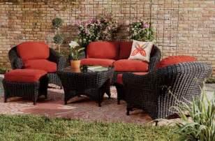 Martha Stewart Patio Furniture Sets Martha Stewart Living Lake Adela Six Seating Set Contemporary Outdoor Lounge Sets