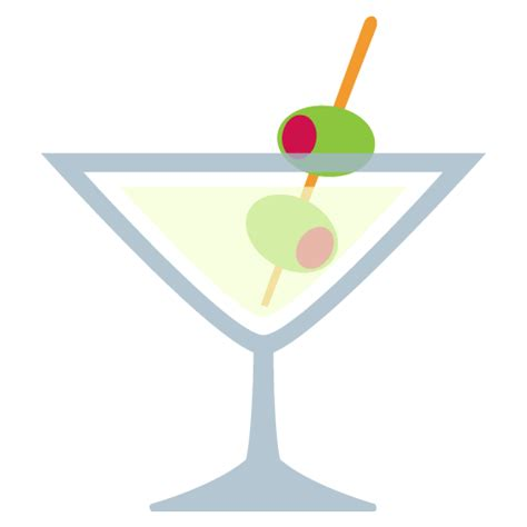 cocktail emoji green apple cocktail emoji
