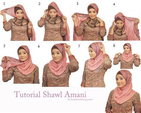 Jilbab Anak Shawl jilbab muslimah cara memakai jilbab shawl amani style