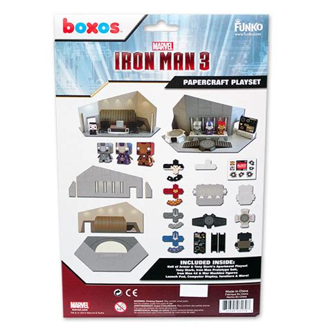 Papercraft Sets - iron papercraft set