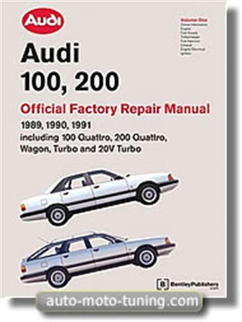 audi 100 200 1989 1990 1991 automatic transmission revue technique audi