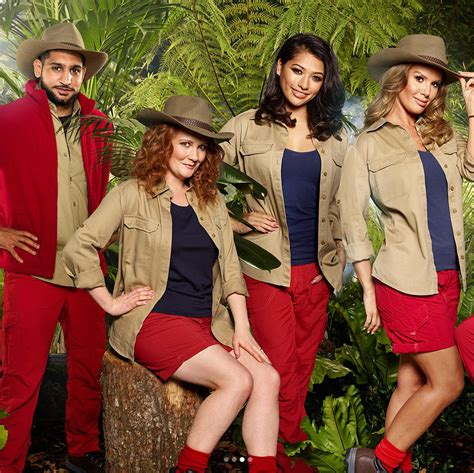 celebrity jungle line up 2017 australia the official i m a celeb line up s been revealed there