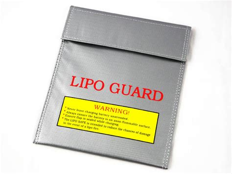 Gt Power Lipo Safety Bag Small Rc Pesawat Rc Mobil Drone Gt Lipo Safety Bag Small 220 180mm Bag
