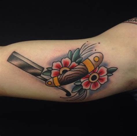 straight razor tattoo 17 best images about razor on tattoos