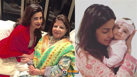 priyanka chopra baby daddy actress priyanka chopra family photos with father mother