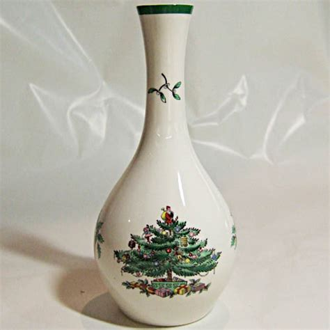 spode christmas tree vase