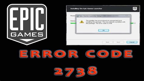fortnite error fortnite error code 2738