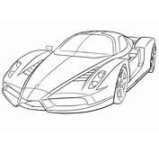 Coloriage &224 Imprimer  V&233hicules Voiture Ferrari