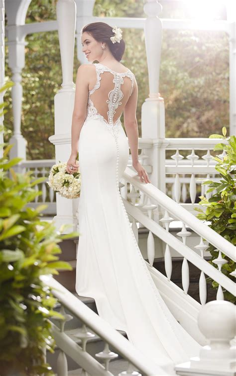wedding dresses casual racerback wedding dress martina