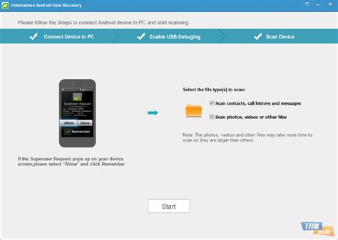 data recovery for android potatoshare android data recovery indir android cihazlardan dosya kurtarma yazılımı tamindir