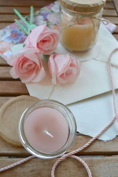 come fare una candela profumata una profumatissima barattolo candela un originale idea