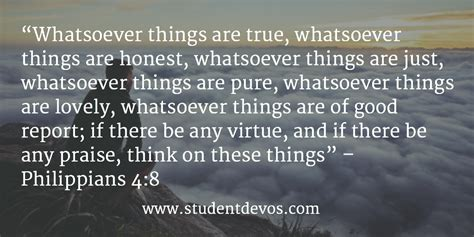 think on these things intentional thoughts with scripture books daily bible verse and devotion philippians 4 8