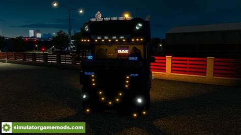 game gear led mod ets2 vled scania and daf basik volvo 180 km full save 1