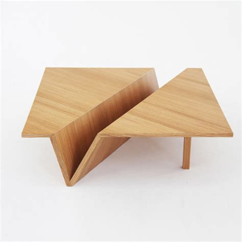 Origami Table - origami coffee table neatly folded furniture
