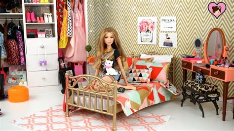 barbie doll bedroom  gigi hadid doll  dress