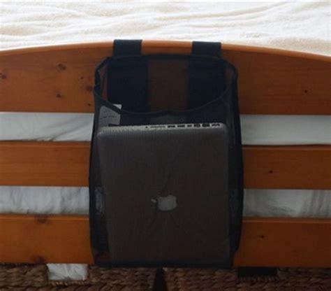 Headboard Caddy by Bedside Laptop Caddy Room Storage And Organization