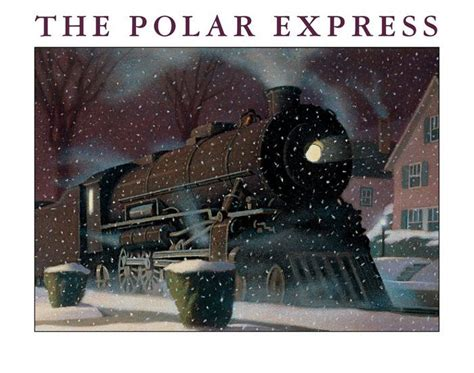 polar express book pictures the polar express big book by chris allsburg other