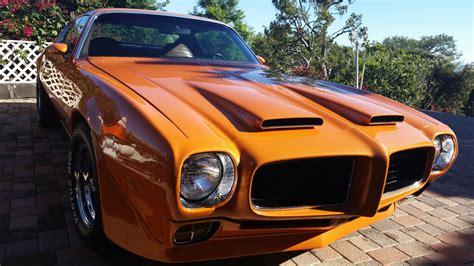 formula big block car ram air hood classic pontiac firebird   sale