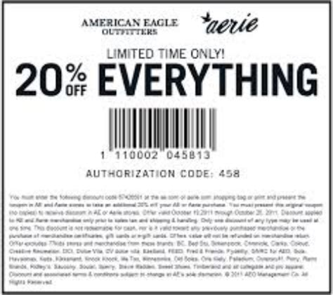 American Eagle Usa Printable Coupons american eagle outfitters printable coupons september 2015