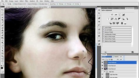noise reduction tutorial photoshop cs5 sharpening in photoshop cs5 noise reduction youtube