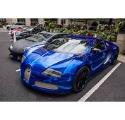 Bugatti Exotic Matt Supercars Veyron Vinyl Wrap Chrome