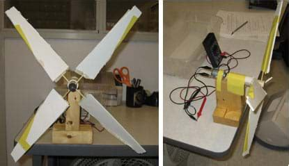 How To Make A Paper Wind Turbine - palle solar diy wind turbine motor