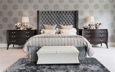 black pattern wallpaper bedroom 20 ways bedroom wallpaper can transform the space