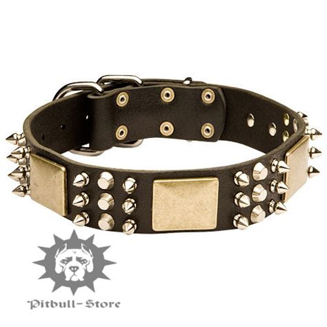 spiked collars for pitbulls rottweiler spiked collars images