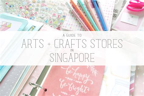 Paper Craft Singapore - aerialovely a guide to arts crafts stores in singapore
