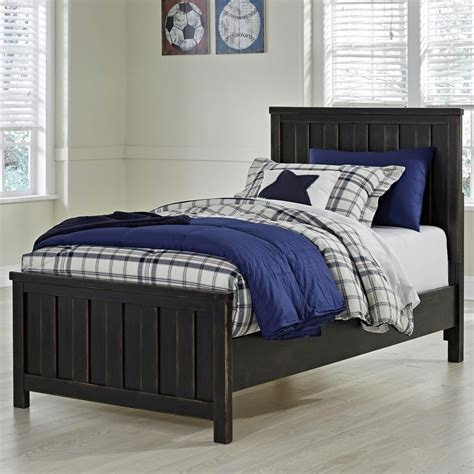 twin bed ashley furniture signature design by ashley jaysom twin panel bed in rub