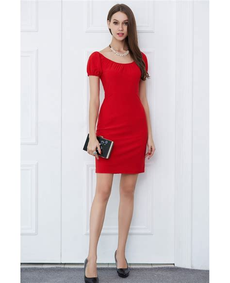 Scarlet Dress Dress Casual casual weeding guest dress with sleeves dk349 76 5 gemgrace