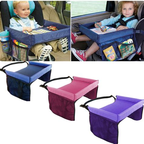 travel desk for baby safety waterproof snack car seat table play