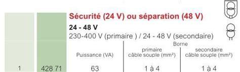 Transformateur 24v 12v 182 by Conseil Sur Branchement Transfo Usinages