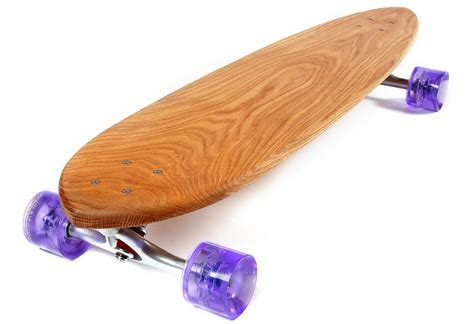 Handmade Skateboard - walnut made skateboards make you want to touch them
