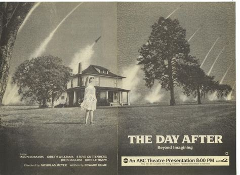 The Day After by Tv Guide Ads For Tv The Day After 1983 2 Warps