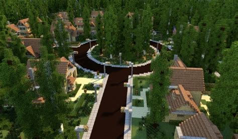 Two Story House Designs by Greenville Idyllic Village Minecraft Building Inc