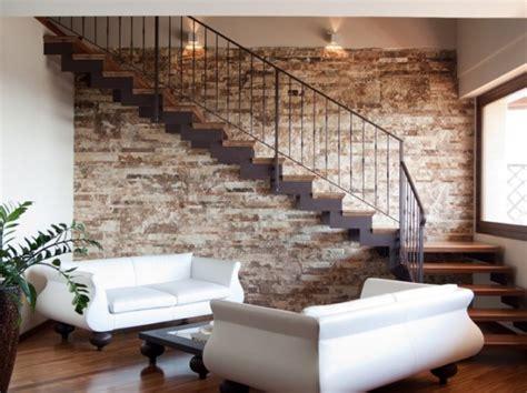 parete interna in pietra rivestimenti in pietra foto design mag