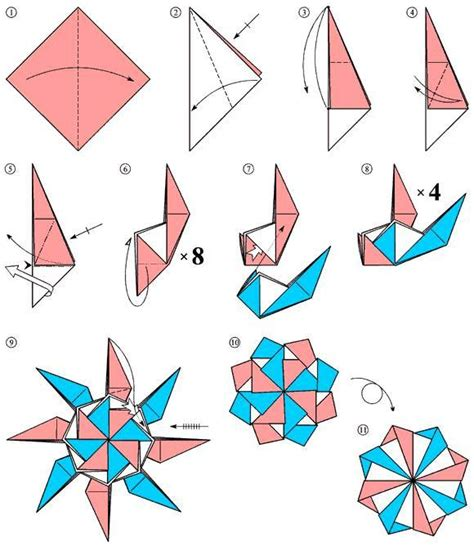 Origami Tutorials - 347 best images about origami on paper