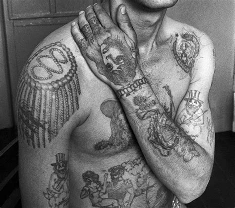 prison tattoo history prison uk an insider s view prison tattoos a personal