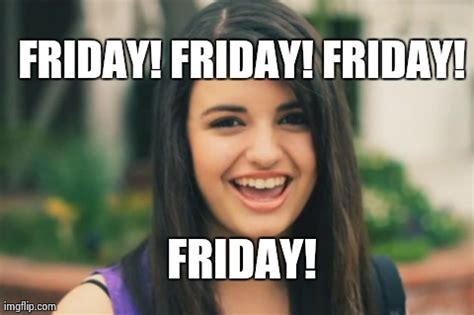 Rebecca Black Meme - pin rebecca black meme funny images jokes and more lols