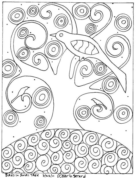 owl mosaic coloring page bird in tree coloring page owl projects children s