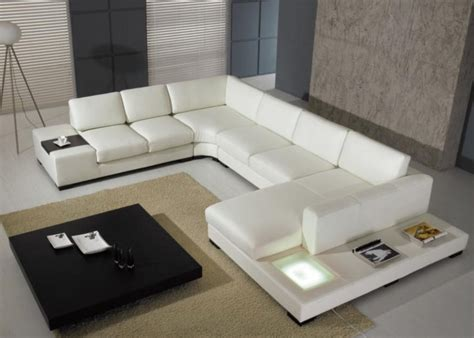 Sectional Sofa Modern Modern Leather Sectional Sofa Opulent Items