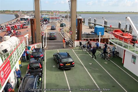 boot ameland auto veerboot holwerd ameland 171 veerbootinfo nl