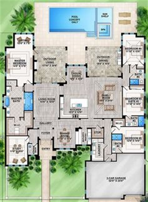 how big is 2900 square feet 1000 images about house plans on pinterest floor plans
