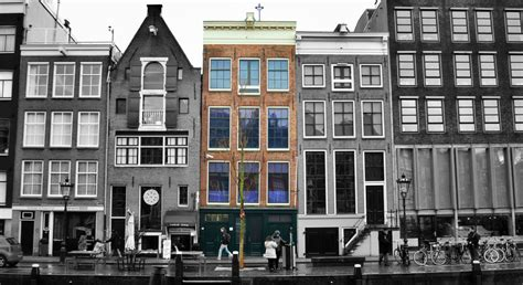 where is the anne frank house anne frank house the anne frank hideout in amsterdam traveldigg com