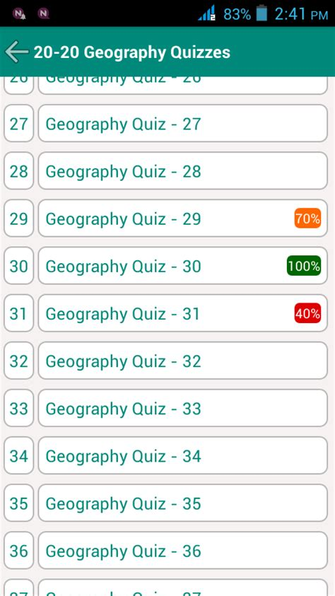 20 20 geography quiz android apps on play
