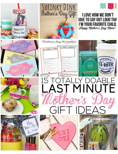 Last Minute Handmade Gifts - last minute s day gift ideas