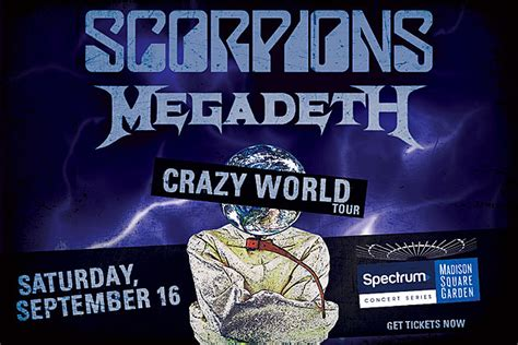 scorpions tickets scorpions concert tickets tour dates get tickets to scorpions with special guest megadeth at