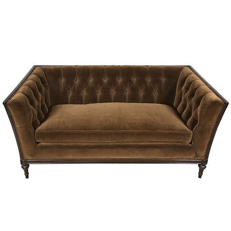tufted loveseats french tufted loveseat at 1stdibs